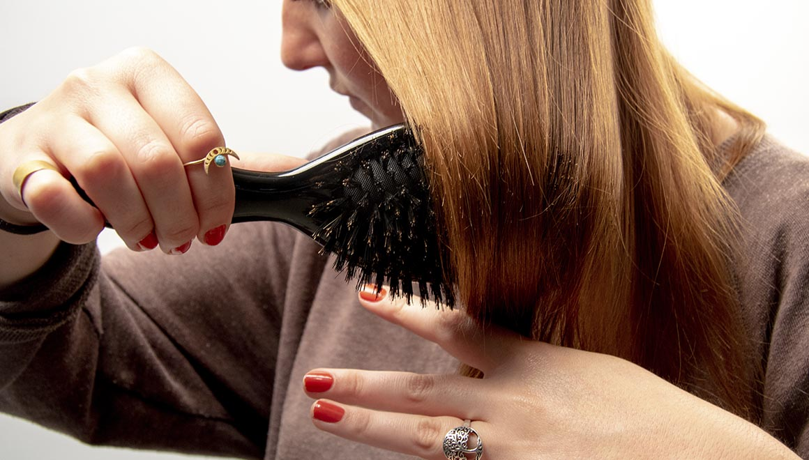 mantener el cabello limpio con termix