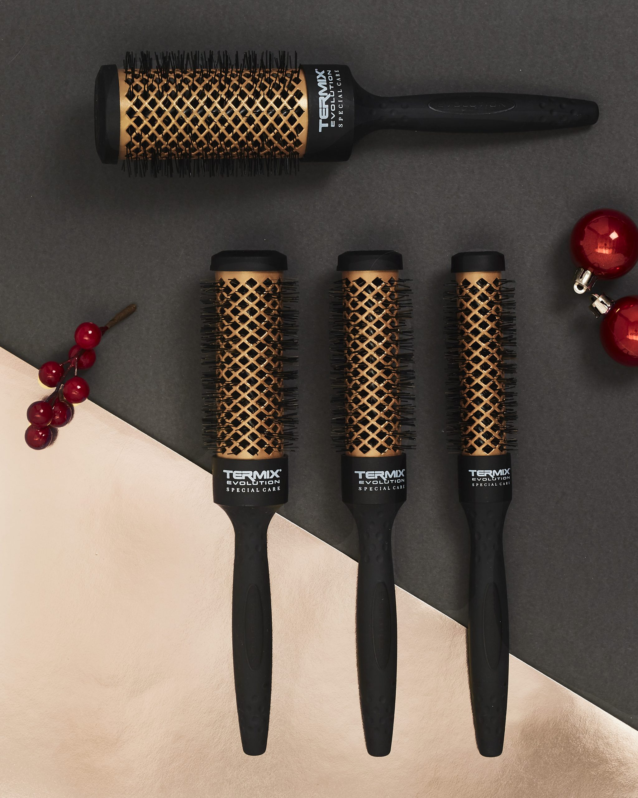 Cepillos Termix Evolution Special Care para cabellos dañados Navidad
