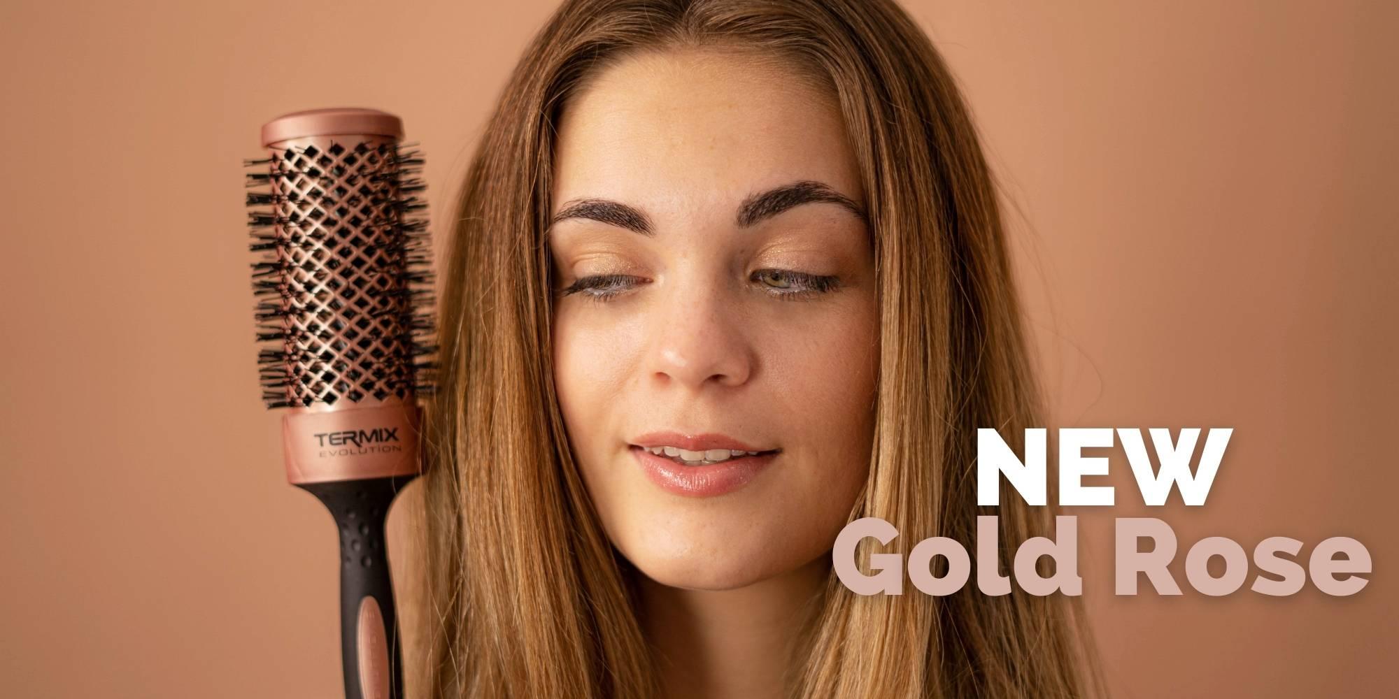 New Termix Evolution Gold Rose brushes