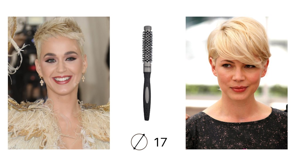 Ejemplos de Peinados con Cepillo Evolution Basic 17