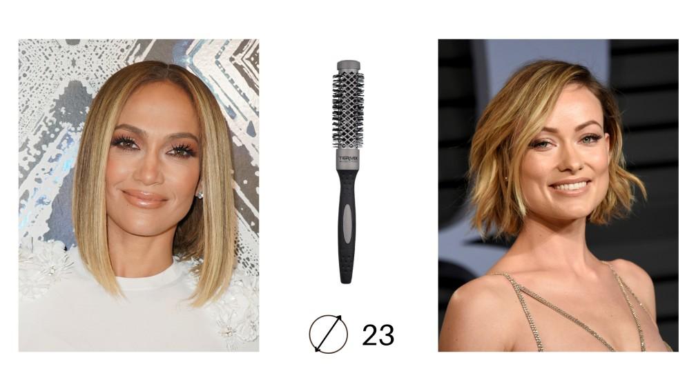 Ejemplos de Peinados con Cepillo Evolution Basic 23