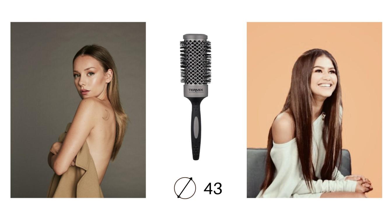 Ejemplos de Peinados con Cepillo Evolution Basic 43