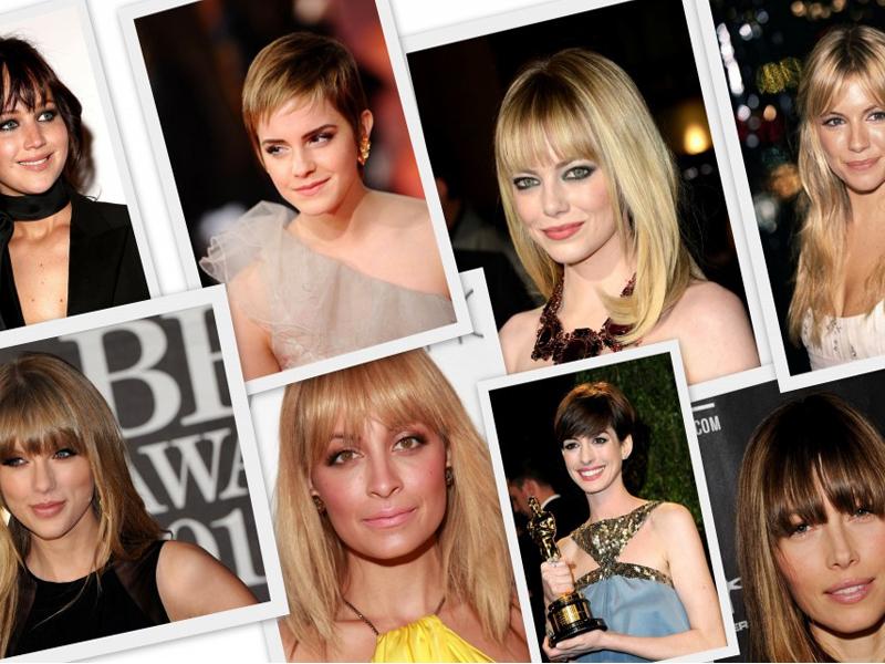 Corte de cabello de mujer en puntas