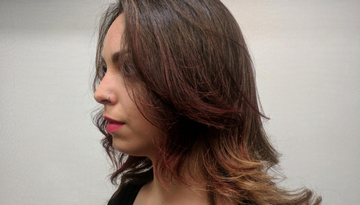 tendencia bronzing hair