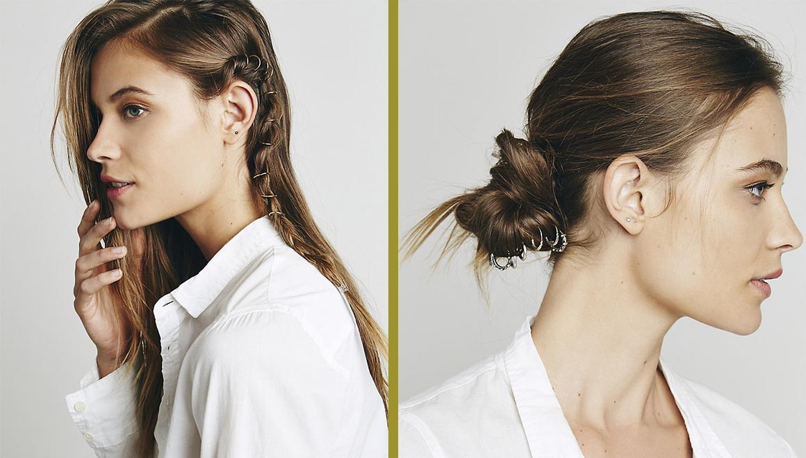 recogidos de la temporada tendencias cabello