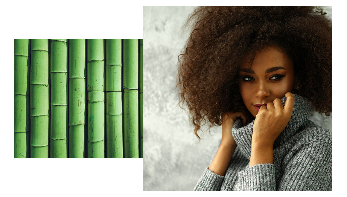 bamboo extract is perfect for boost hair flexibility