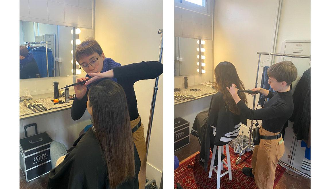 cristina casanova making off raya cabello termix