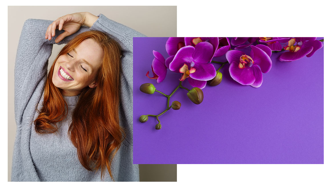 orchid prevents hair oxidation