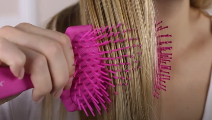 Cepillo Raqueta Color Rosa de Termix para desenredar el cabello