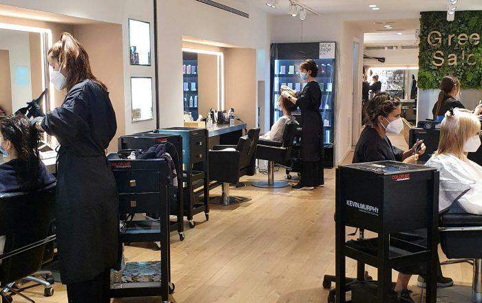 Las peluquerías en la nueva normalidad