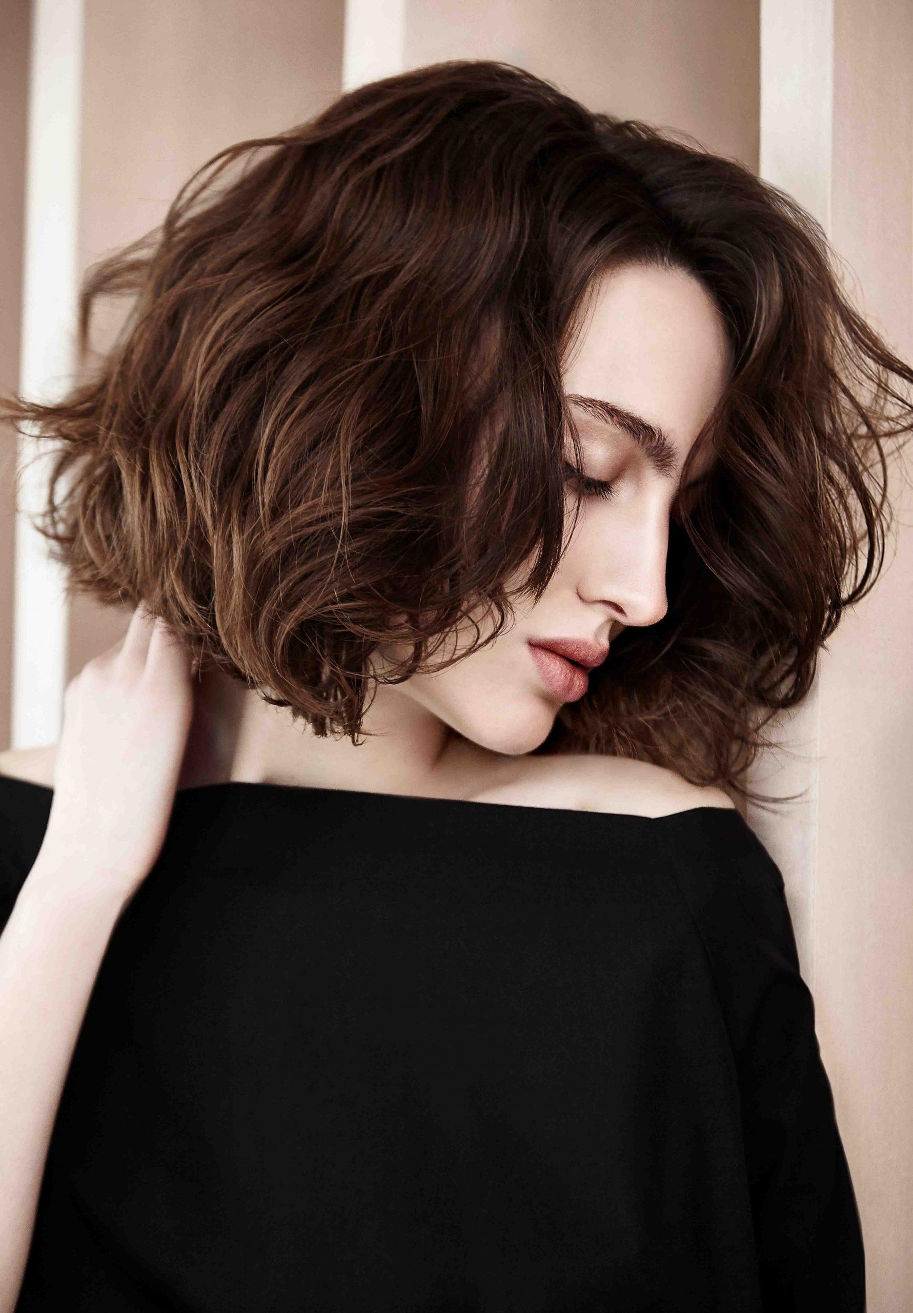 Look tendencia del cabello Soft Waves