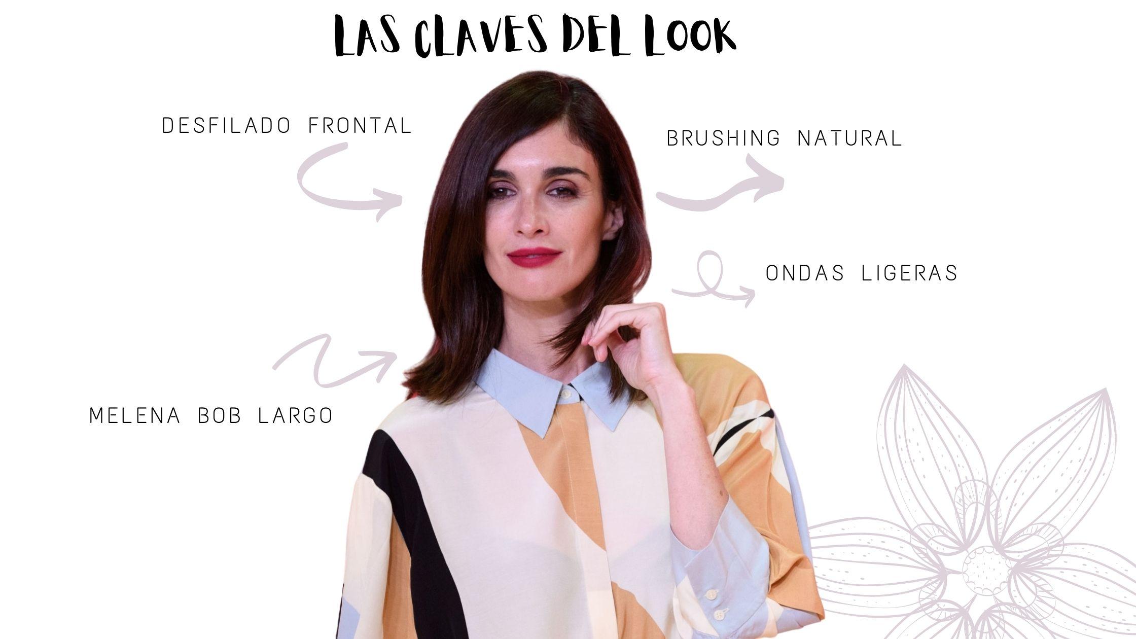 Las claves del look de Paz Vega en el festival de Malaga por Termix