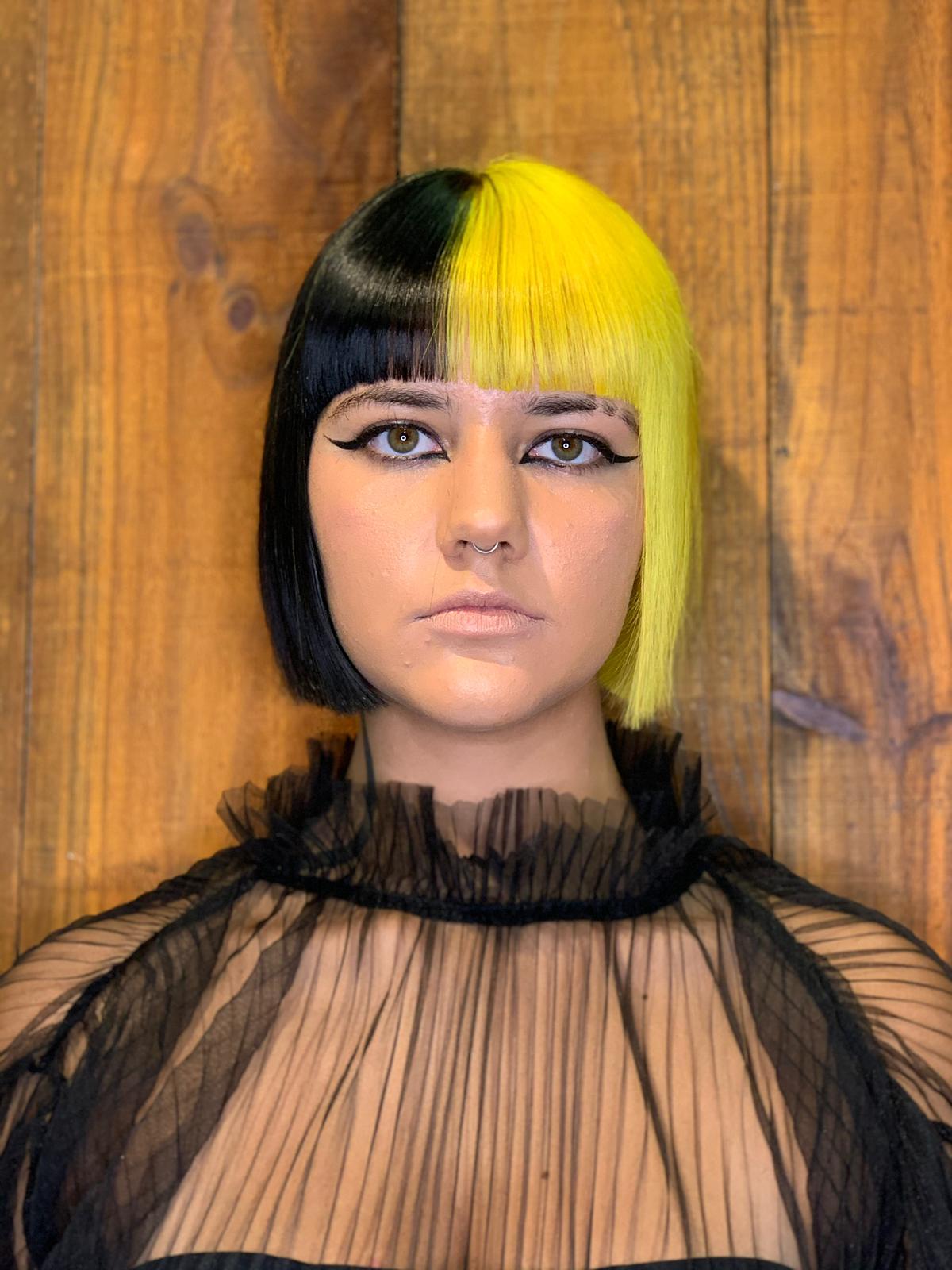 cabello tendencia bicolor by landry agres termix