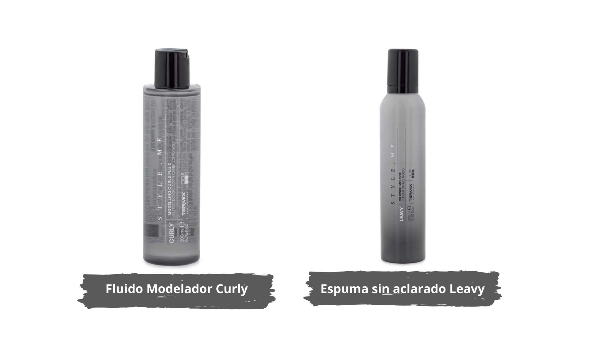 Productos Termix para el Método Curly