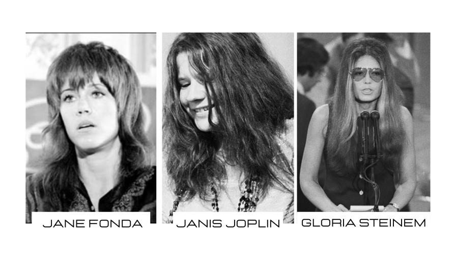 Peinados en los años 70, día de la mujer