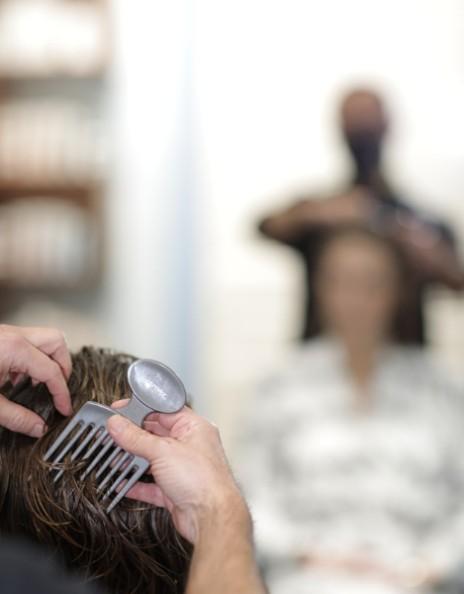 Desenredado de cabello rizado