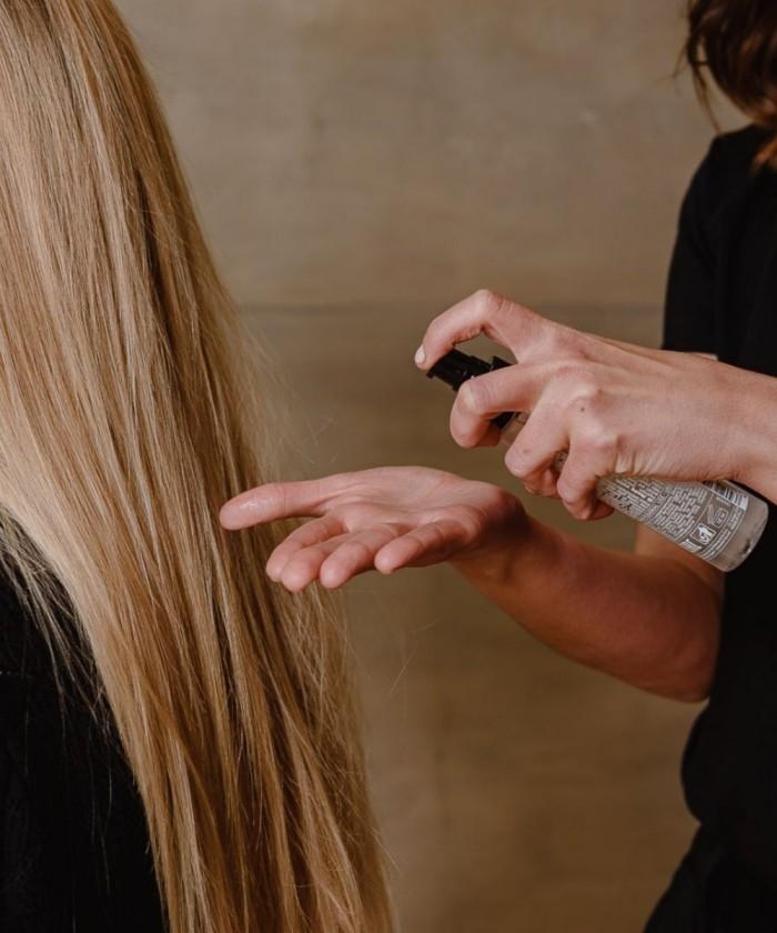 Cuidado del cabello con el serum silky