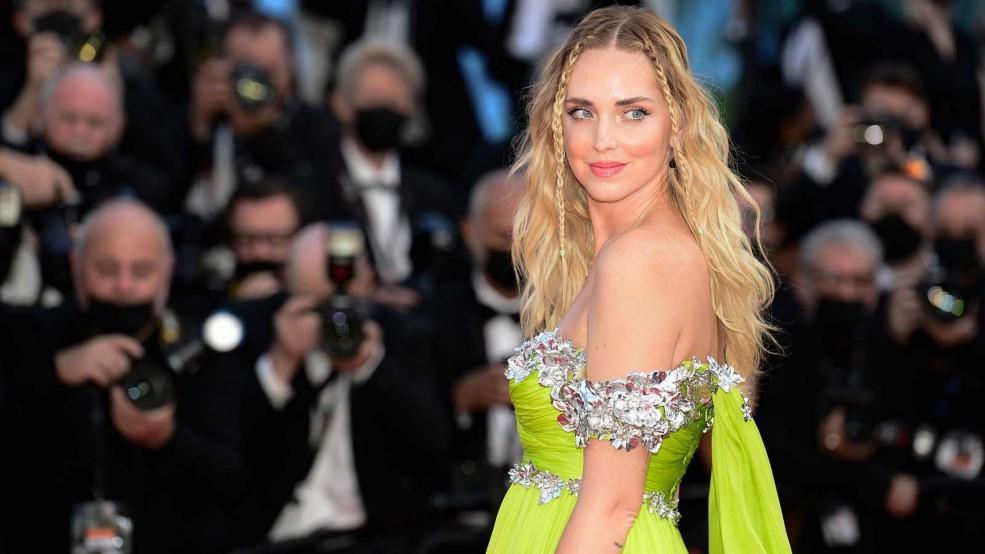 Peinado con trenzas de Chiara Ferragni en Cannes 2021