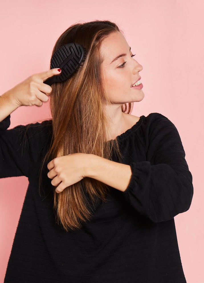 Un buen desenredado es básico para que el pelo no se rompa