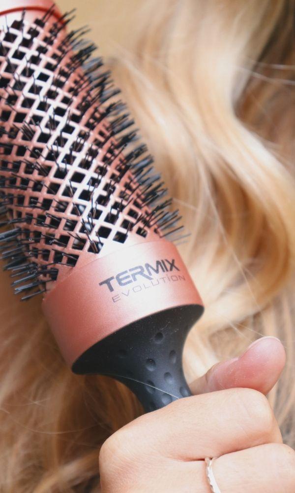 cepillo redondo brushing sano ventajas Termix Gold Rose Evolution