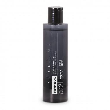 Aceite para revitalizar el cabello seco