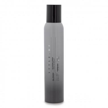 Spray Glossy para el cabello brillante