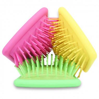 Cepillos de pelo de color