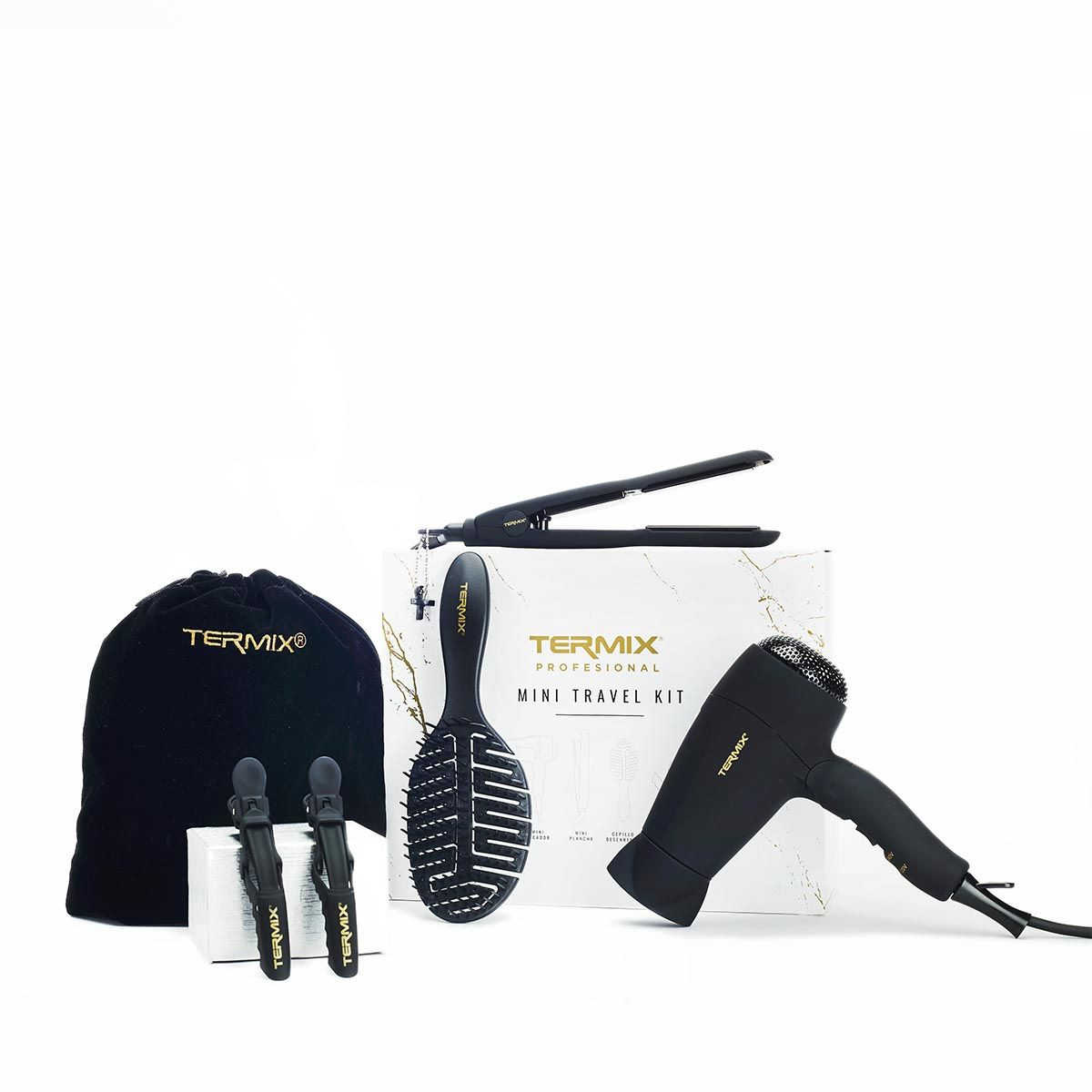 Kit de viaje profesional de peluquería de Termix