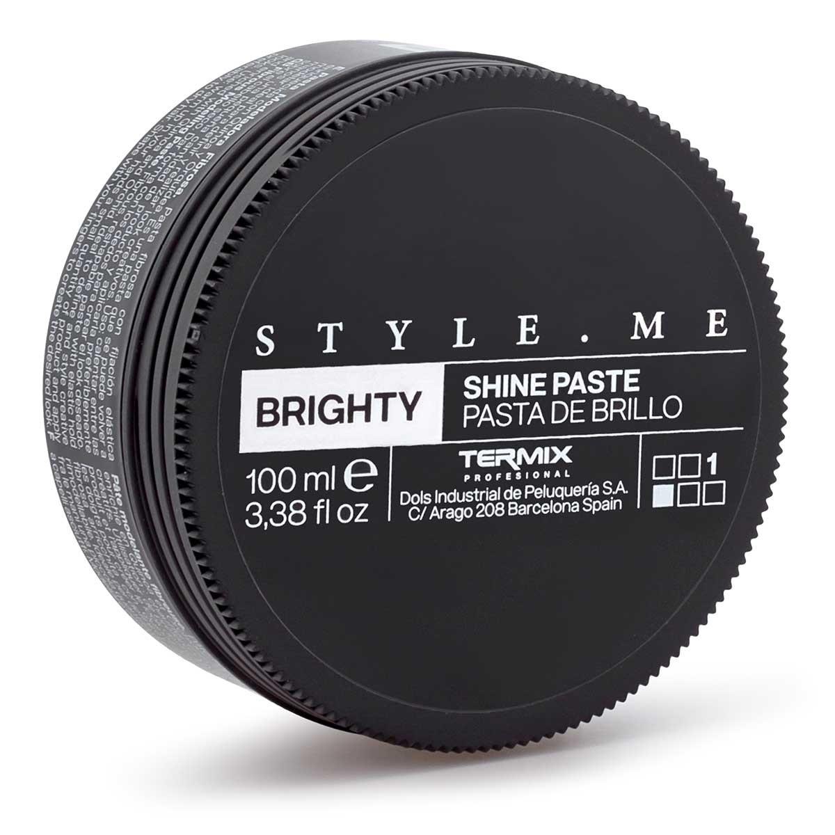 Cera de peluquería efecto brillo
