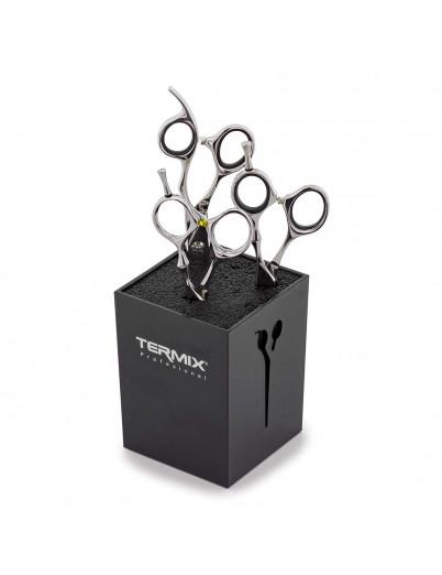 Soporte para proteger las tijeras de peluquería y barbería