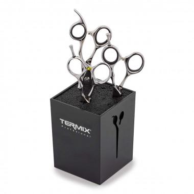Soporte para proteger las tijeras de corte de pelo