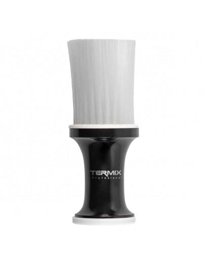 Cepillo de talco profesional negro Termix - fibra blanca
