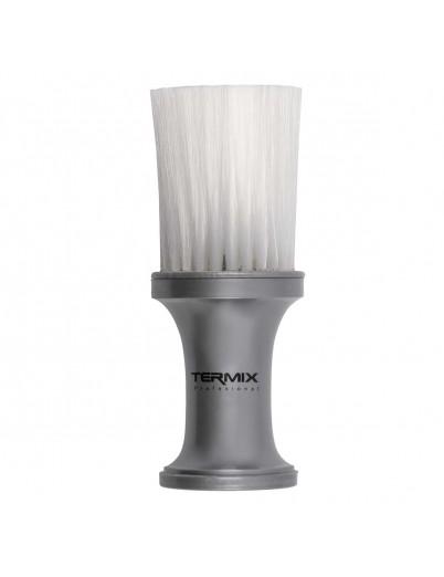 Cepillo de talco profesional plata Termix - fibra blanca