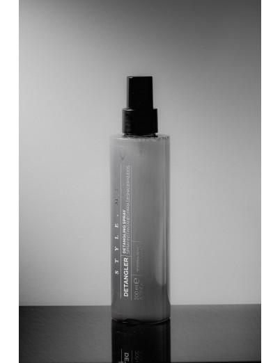 Spray desenredante de nudos del cabello