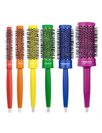 Cepillos de pelo Termix de color